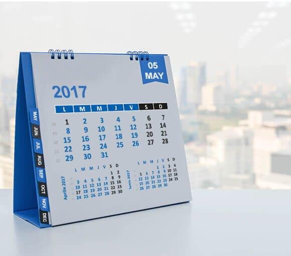 calendare de perete si birou